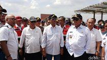 Menhub dan Menteri PUPR Tinjau Rest Area di Tol Bakauheni-Palembang