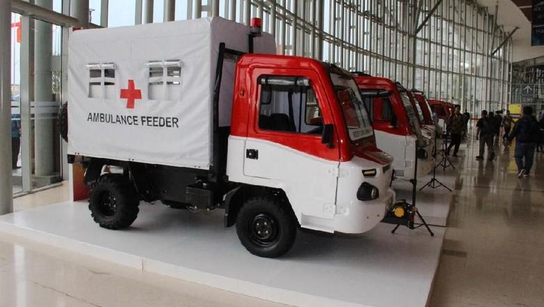 Mobil Desa atau AMMDes bisa menjadi ambulans Foto: Dok. Kemenperin