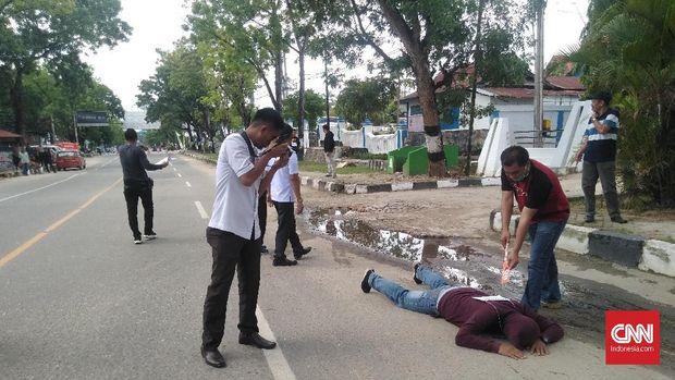 Jaksa Kembalikan Lagi Berkas Penembakan Mahasiswa Kendari