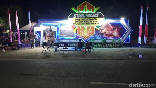 May The Force Be With You, Pospam di Kukar Dibikin Mirip Markas Star Wars