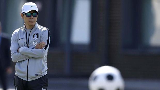 Shin Tae Yong ikut menyingkirkan Jerman di Piala Dunia 2018.