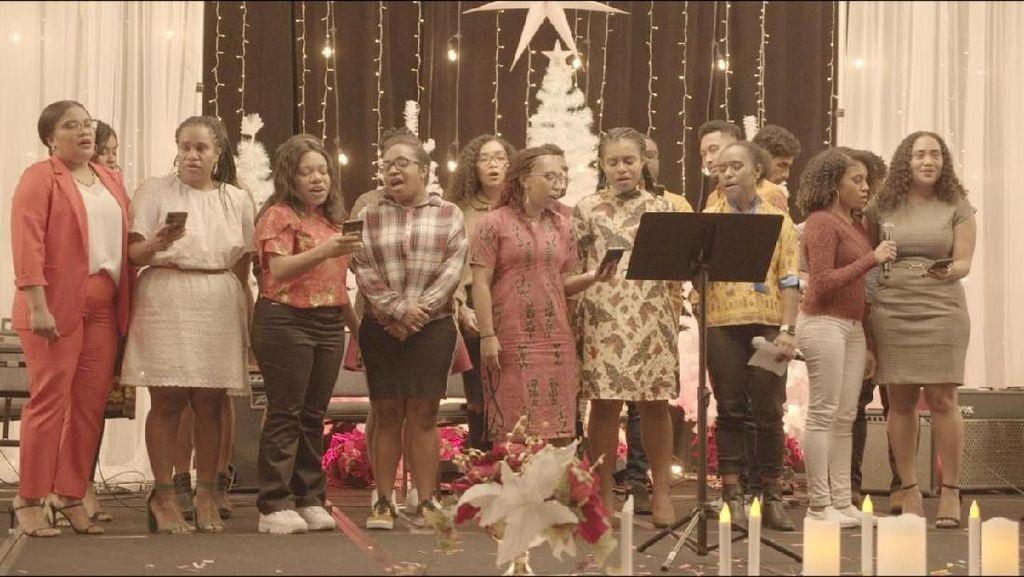 Mahasiswa Papua Rayakan Natal Bersama di Los Angeles