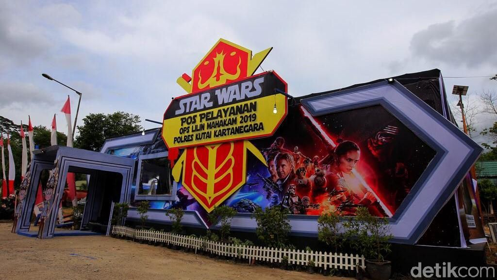 May The Force Be With You, Pospam di Kukar Dibikin Mirip Markas Star Wars