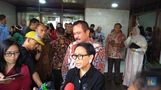 Dari Prabowo-BKS-Mahfud MD, Hadiri Natal di Rumah Luhut