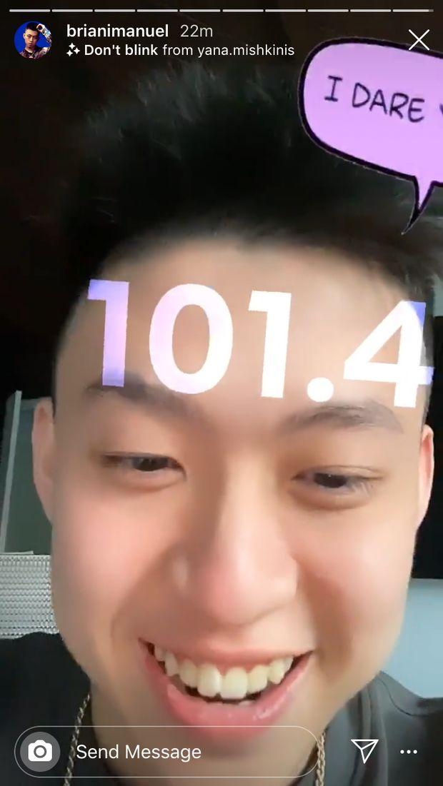 Rekor! Rich Brian Tahan 101 Detik Mata Tak Kedip