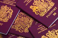 Paspor Inggris