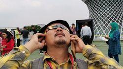 Lihat Gerhana Matahari Cincin Lewat Smartphone dan Pantulan Air, Boleh?