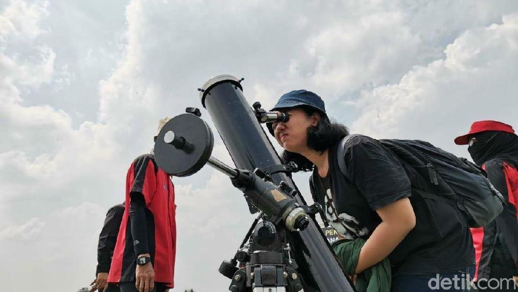 Pusat Peragaan Iptek TMII, menjadi salah satu tempat menyaksikan fenomena Gerhana Matahari Cincin pada Kamis 26 Desember 2019 (detikINET/Aisyah Kamaliah)