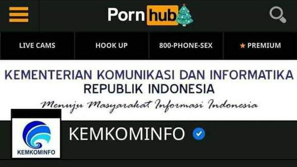 Protes Keras! Kominfo Surati Pornhub