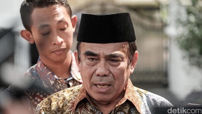 Menag Fachrul Razi (Andhika/detikcom)