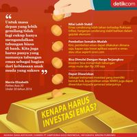 Kenapa Harus Investasi Emas?