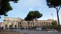 Walau Tempat Wisata Dibuka, Italia Masih Sepi Wisatawan
