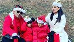 7 Potret Seru Keluarga Artis Rayakan Natal