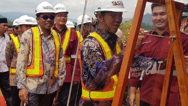 Smelter PT ATS di Sulteng Mampu Produksi Nikel 144 Ribu Ton/Tahun