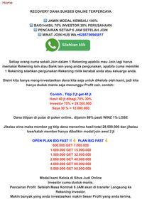 Viral Investasi Titip Dana Taruh Rp 2 Juta Dapat Rp 40 Juta