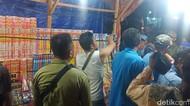 Penertiban Pedagang Kembang Api Jelang Tahun Baru di Palu Nyaris Ricuh