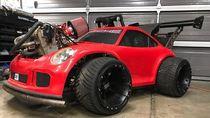 Porsche 911 GT3 ala Go-Kart Pakai Mesin KTM