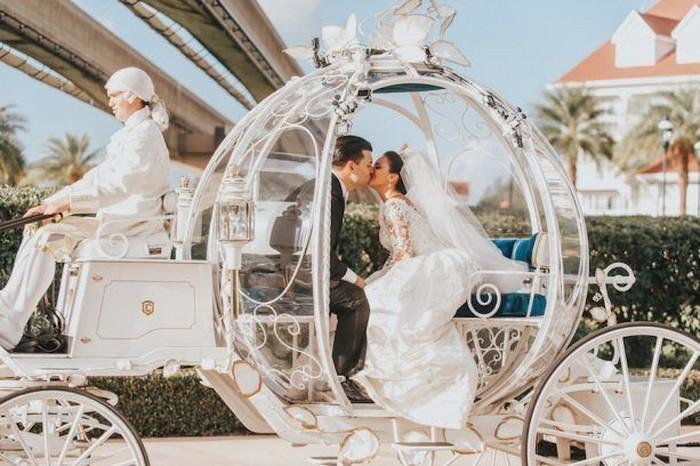 Tanggal Pernikahan Cantik Menurut Pakar / Foto: dok. Disney Park