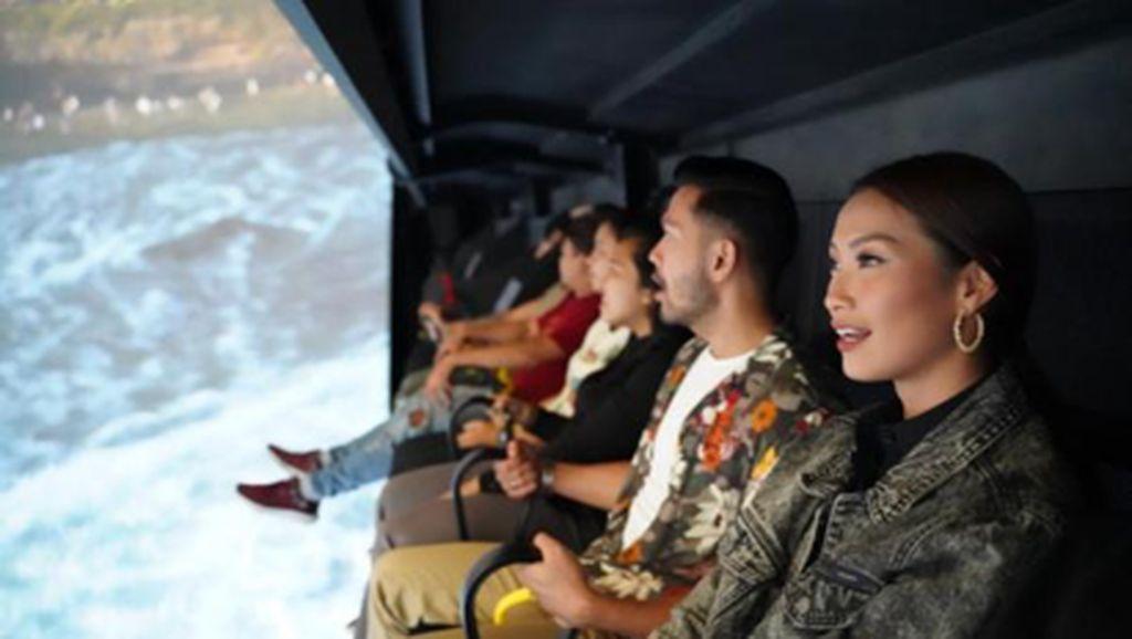 Yuk, Jelajah Nusantara Naik Flying Over di Trans Studio Bali