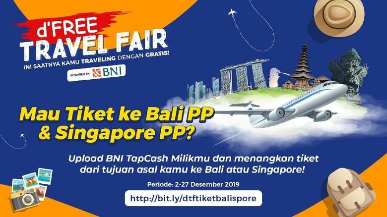 Ini Kesempatan Terakhirmu Dapatkan Tiket Gratis Bali Singapura