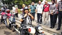 Risiko Kecelakaan Motor Tinggi, Wawali Bandung Kampanye Klik Helm
