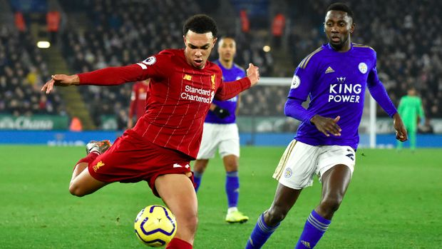 Mengalahkan Leicester membuat Liverpool menjauh dengan 13 poin.