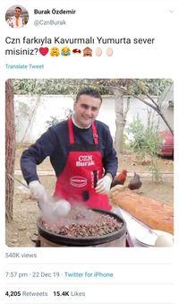 Burak Ozdemir, Chef Turki yang Viral Karena Selalu Senyum Saat Masak