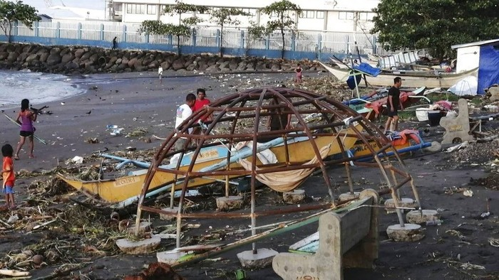 Badai Vamco Terjang Filipina Tewaskan Satu Orang