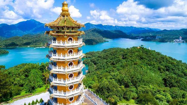 Danau Matahari Bulan, Destinasi Gowes Terbaik di Taiwan