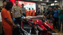 Remaja di Cirebon Curi Belasan Motor untuk Pemandu Lagu