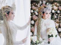 Foto: Inspirasi Kebaya Pengantin Putih 15 Artis Indonesia