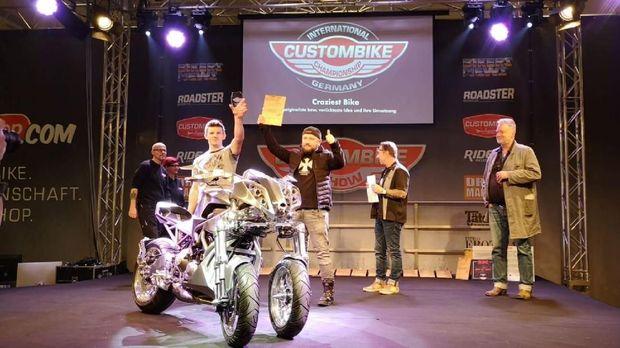 Modifikasi Yamaha Niken pertama di dunia