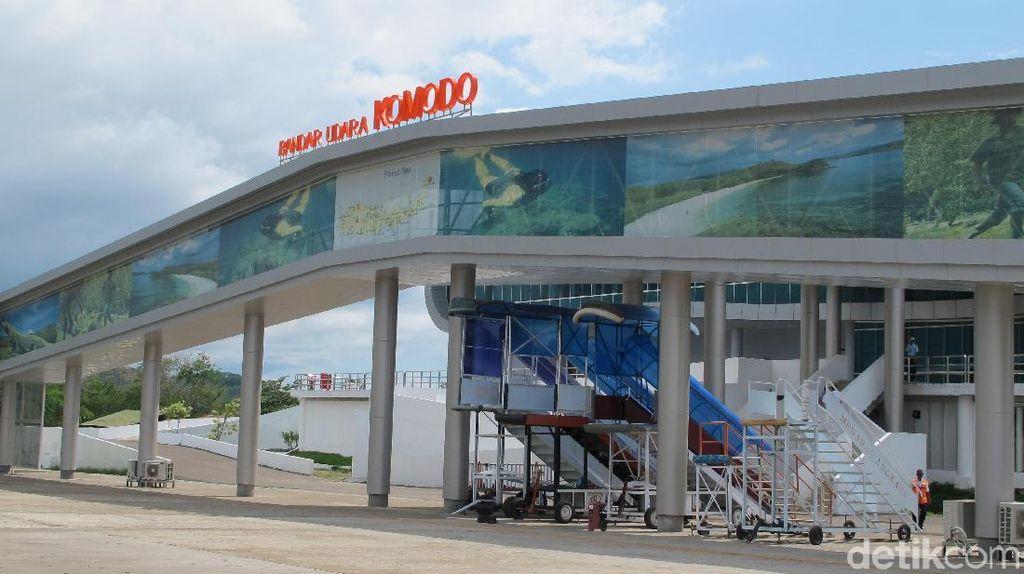 Dikelola Changi, Bandara Komodo Berstatus Internasional Juni