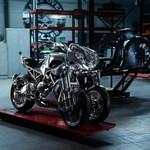 Berkilauan, Inilah Yamaha Niken Custom Pertama di Dunia