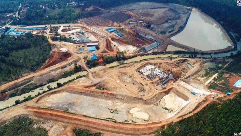 Jaga Lumbung Pangan Nasional, 2 Bendungan Dibangun di Lampung