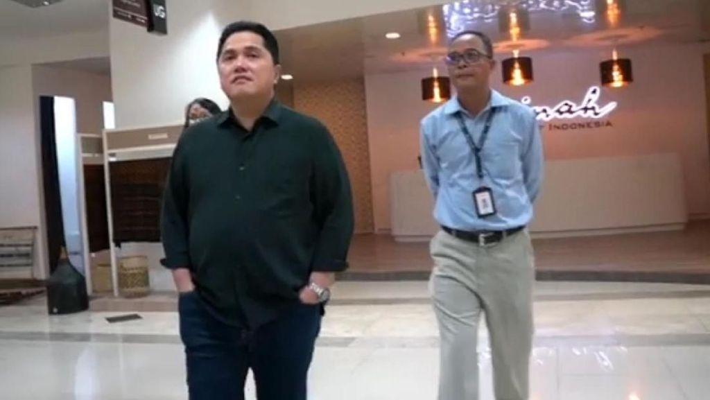 Fuad Rizal Masih Jadi Direktur Garuda, Erick Thohir: Tentu Diawasi