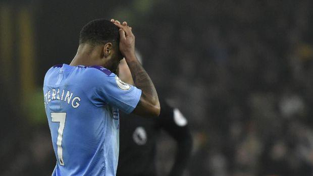 Manchester City kini hanya mampu menempati posisi ketiga klasemen sementara Liga Inggris. (