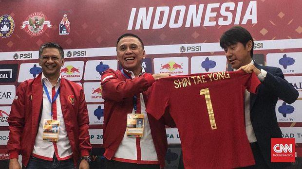 Shin Tae Yong Tak Masalah Indonesia di Peringkat Ke- 173 FIFA