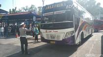 Terjaring Razia, Petugas Dapati 2 Bus Tak Layak Jalan di Subang