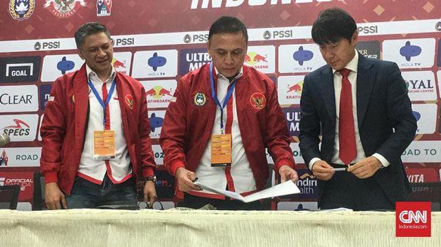 Shin Tae Yong Mulai Berani Berbahasa Indonesia