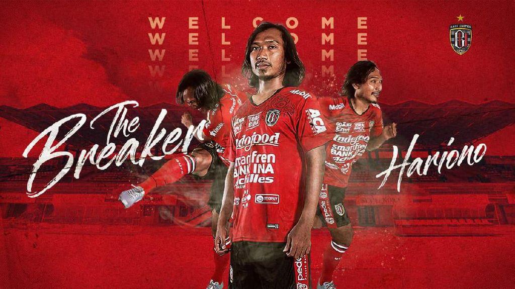 Resmi, Bali United Rekrut Hariono dan Gavin