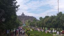 Hari Ini Puncak Kunjungan Wisatawan di Candi Borobudur