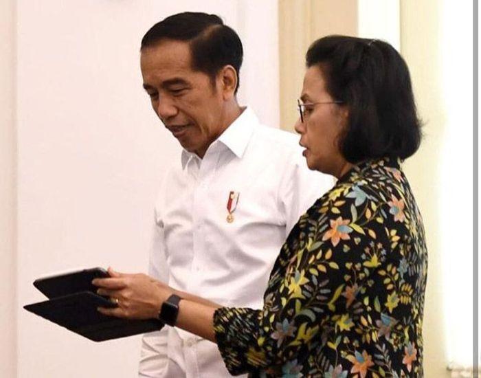 Rapat tersebut dilakukan di Istana Bogor, Jawa Barat, Jumat (27/12/2019). (IG @smindrawati)