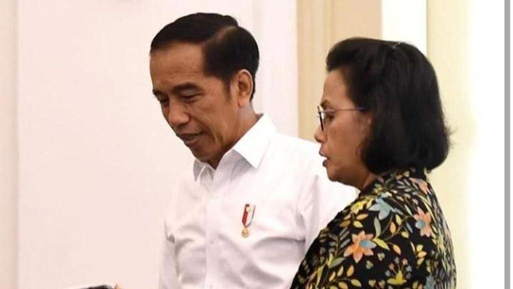 Jokowi Tegur Sri Mulyani Gara-gara Proyeksi Defisit APBN