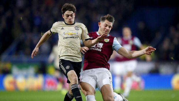 Hasil Liga Inggris: MU Tekuk Burnley 2-0