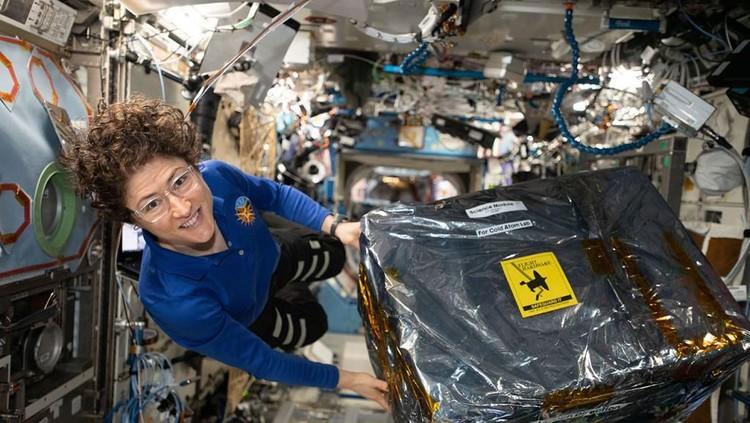 Astronot NASA Christina Koch, perempuan terlama tinggal di luar angkasa.
