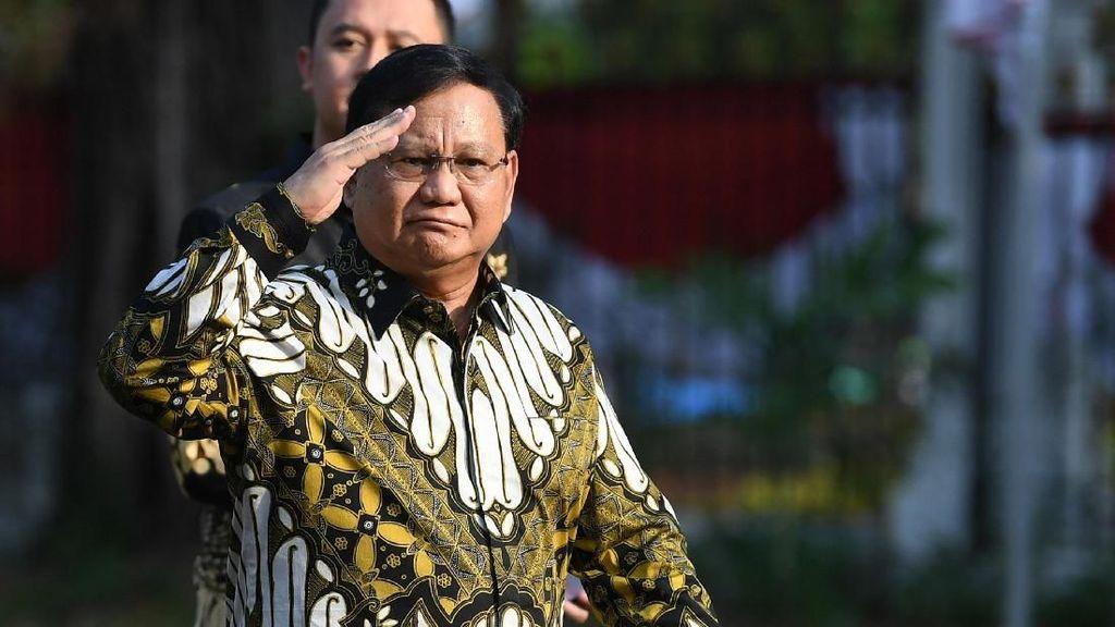 Prabowo Minta Ada Tes Swab Massal ke Semua Prajurit TNI