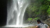 Foto: Air Terjun Penuh Misteri di Cianjur