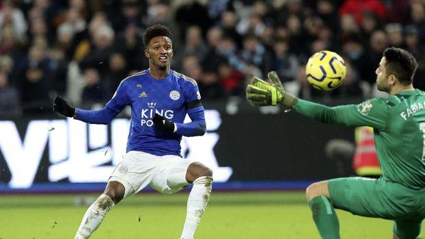 Hasil Liga Inggris: Tottenham Imbang, Leicester Menang