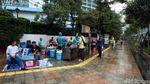 PKL Masih Menjamur di Kawasan CFD Jakarta